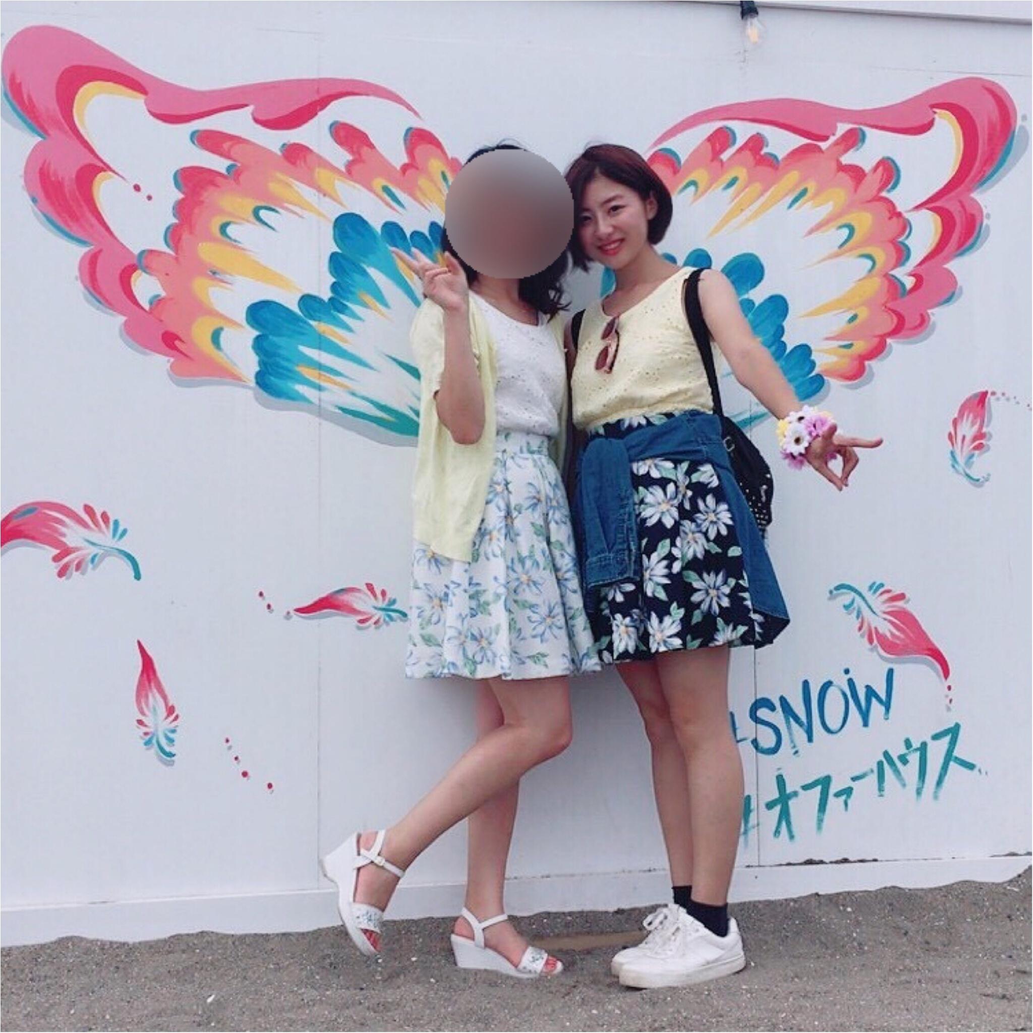 【三浦海岸編】LIVE!パネル!双子コーデ!夏にぴったり フォトジェニックなスポット!_6