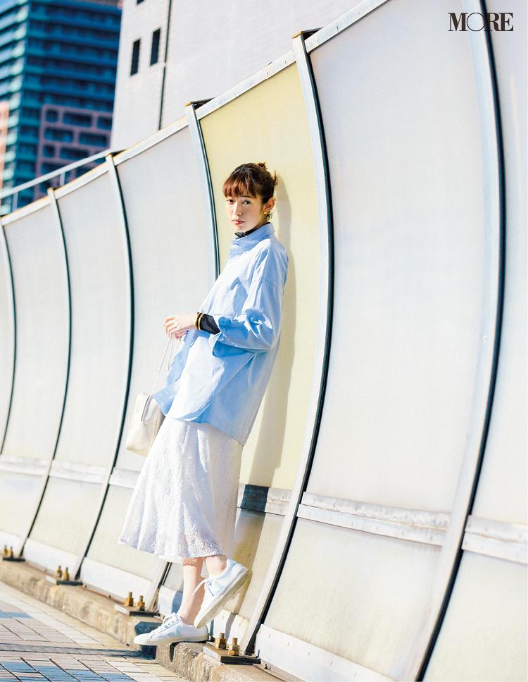 白いレザースニーカーなら理想の「きれいめ」もお手のもの! スタイリスト高野麻子さんの注目ブランド5選_2