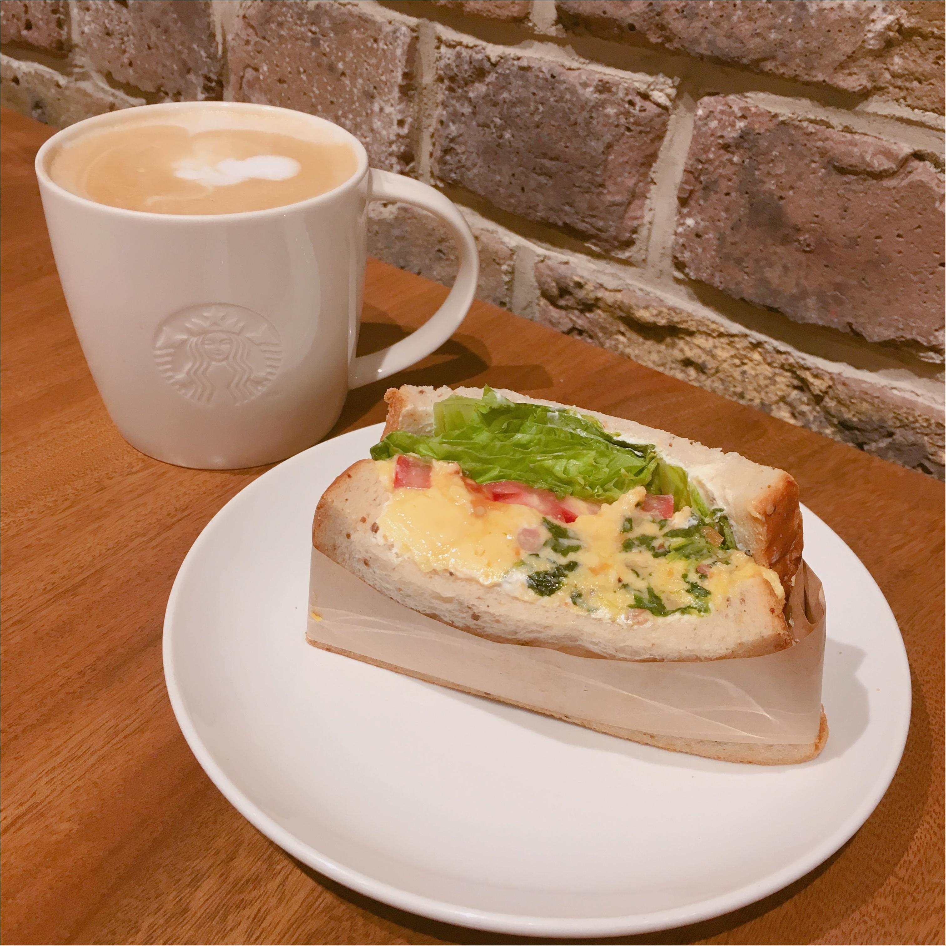 コーヒーだけじゃない!ボリュームたっぷり♡スターバックス美味しいサンドウィッチ♡ 6月14日から発売の新作フラペチーノの情報も♡_1