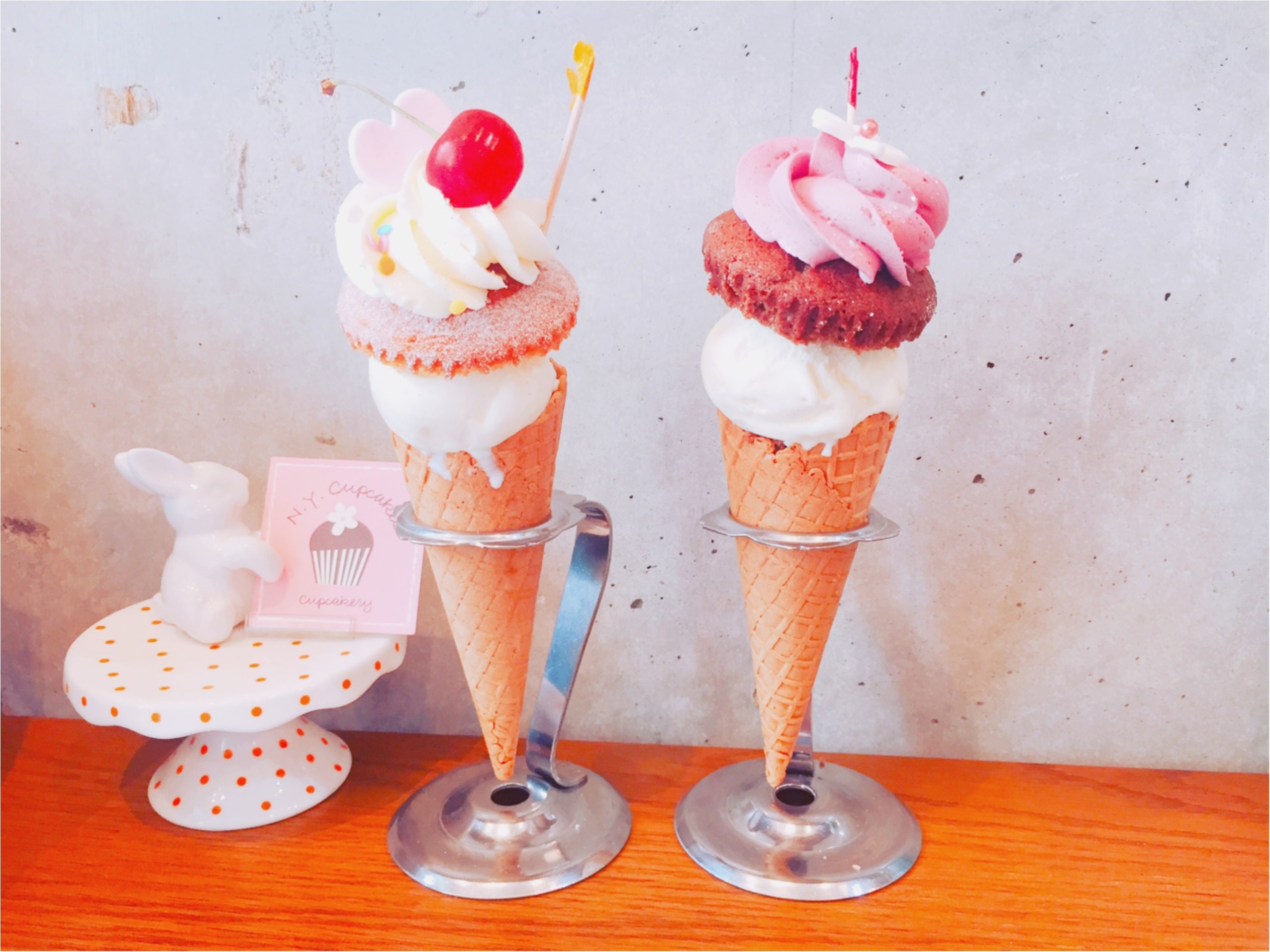 【N.Y. Cupcakes】の夏限定♡アイス+カップケーキが美味しすぎる!_3