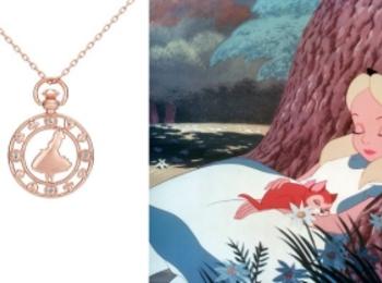 ディズニープリンセス&アリスがテーマのネックレスでキラキラの夏に♪