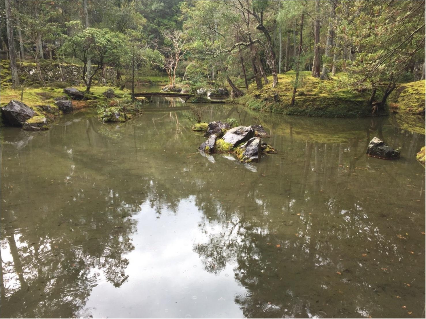 予約必須。京都の西芳寺へ行ってきました♡お願い事は…♡_1