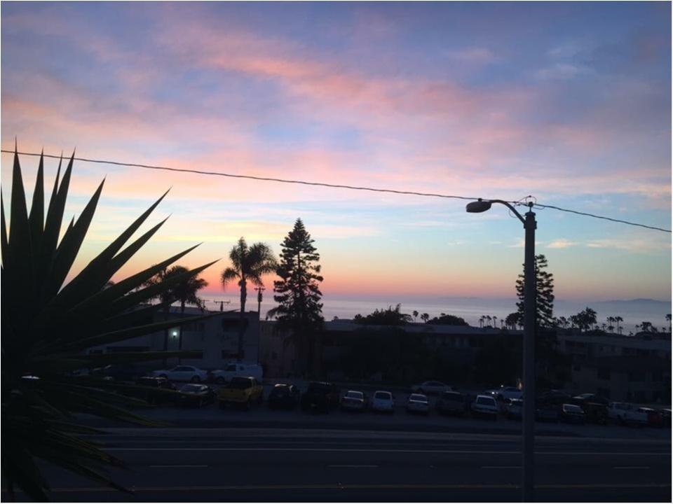 写真でも、きっと伝わるこの魅力✨朝から晩まで眺めた《*ロサンゼルスの広い空*》_9