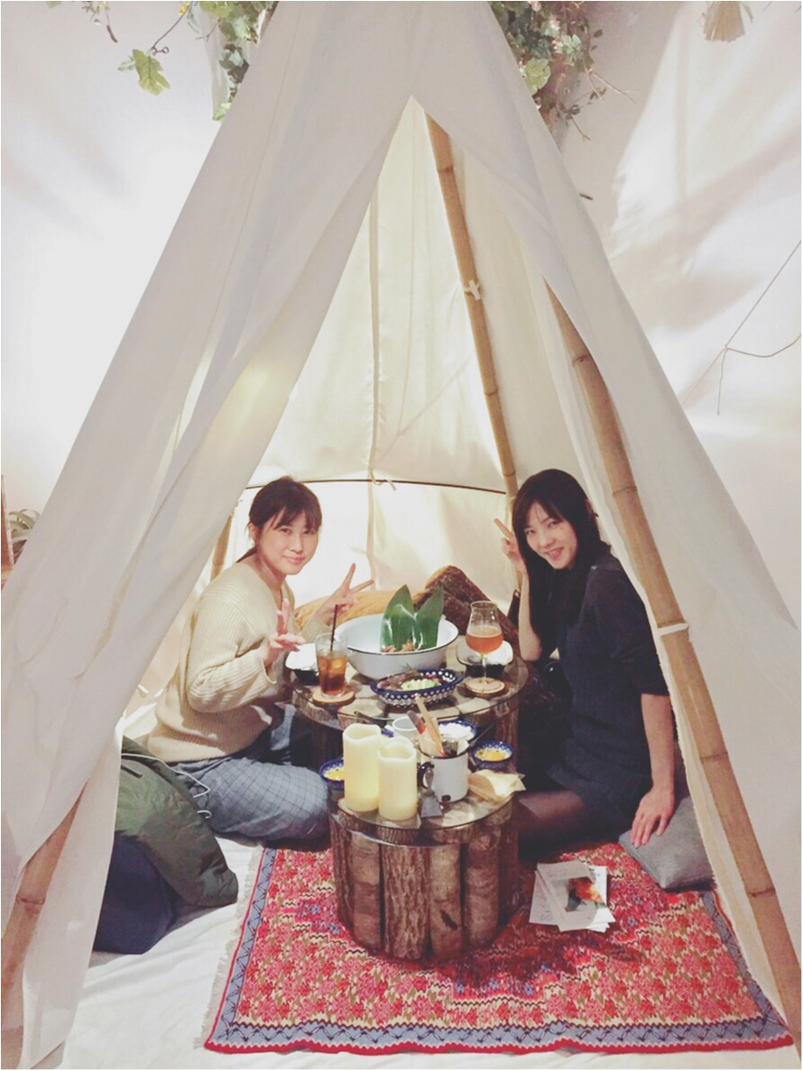 武蔵小杉 インスタ映え グランピング カフェ コスギロッジ