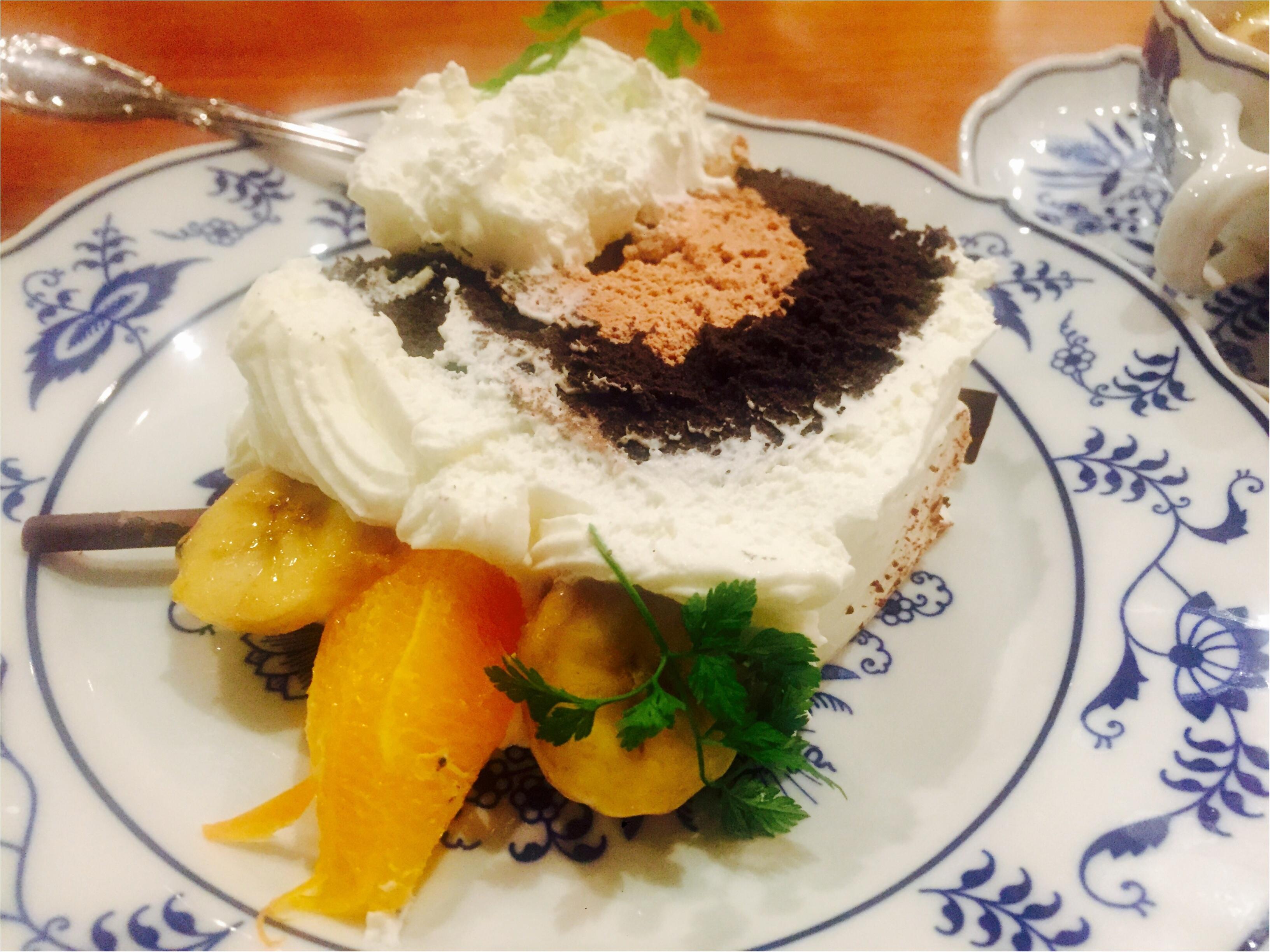 天神橋筋商店街でケーキを楽しむならここ!西洋茶館♡_2