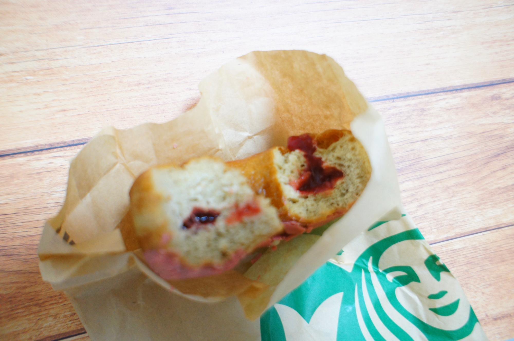《レジ横foodに注目❤️》【スタバ】ベリーソースドーナツが美味しい☻!_2