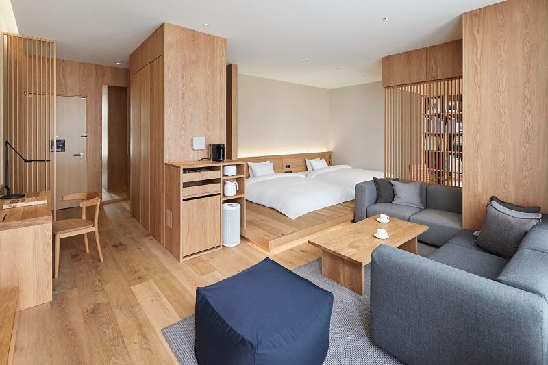 『MUJI HOTEL GINZA』の9タイプの客室、全部見せます♡ 家具からベッド、食器まで。無印良品の名品が使える試せる買える「無印良品 銀座」!_4_9