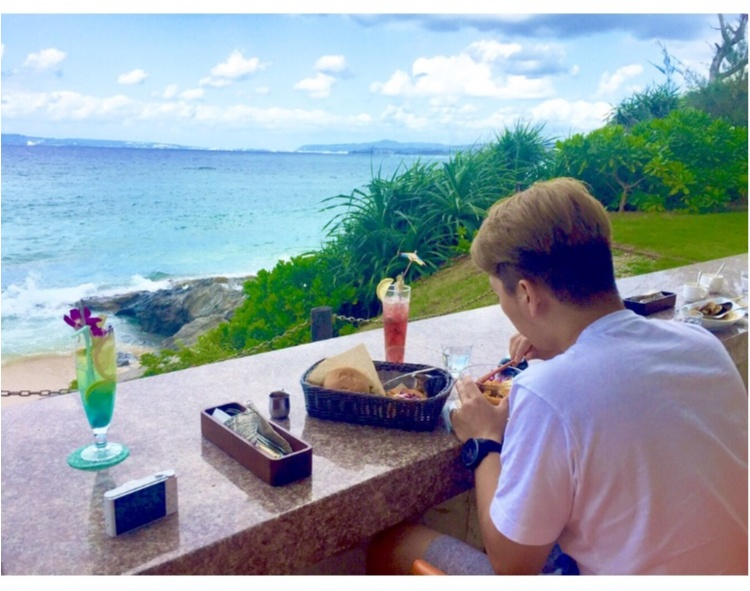 【沖縄女子旅】このドリンクがイチオシ!沖縄カフェの大定番♡ダイヤモンドブルーカフェ_5
