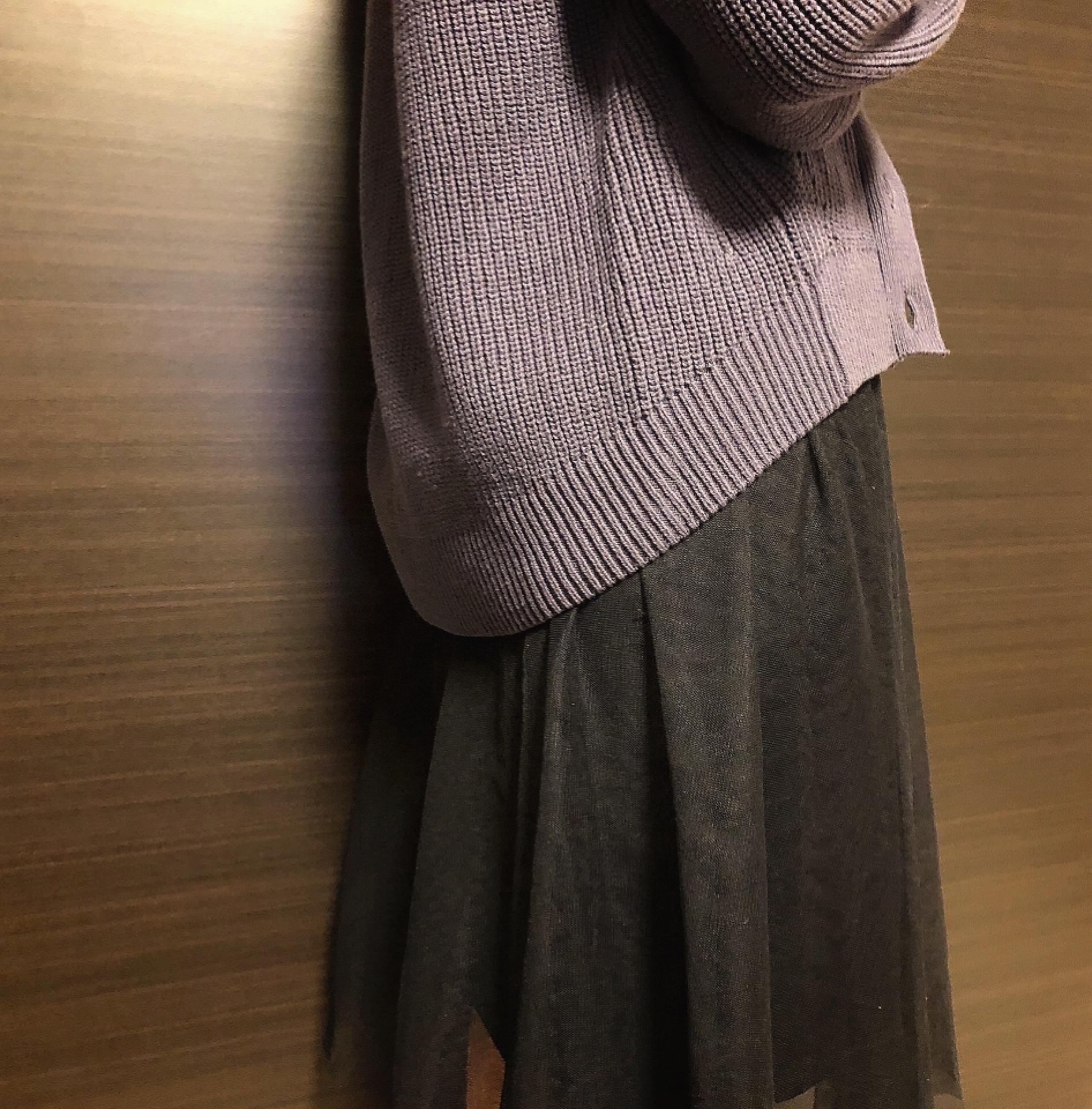 【GU】ゆるっとしたシルエットが可愛いカーデがなんと¥590!プチプラが嬉しいGUのSALEに注目!_3