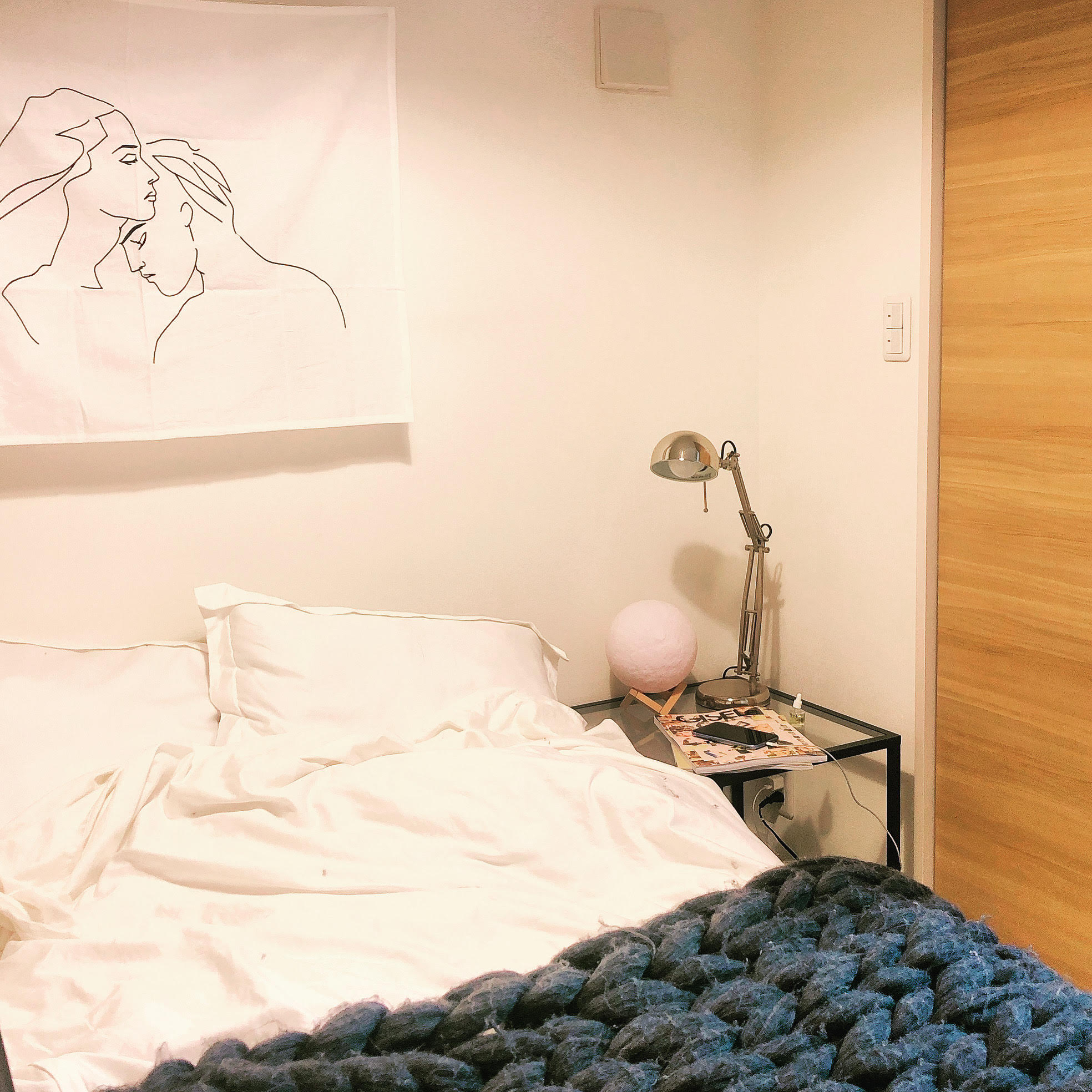 【韓国インテリア】キラキラ間接照明でベッドルームを彩って♡_2