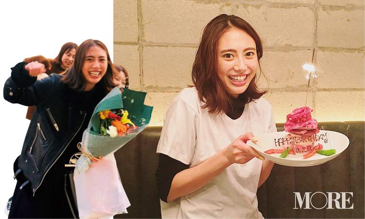 土屋巴瑞季が25歳に☆ お祝いのケーキはまさかの......!!【モデルのオフショット】_1