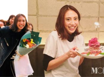 土屋巴瑞季が25歳に☆ お祝いのケーキはまさかの......!!【モデルのオフショット】