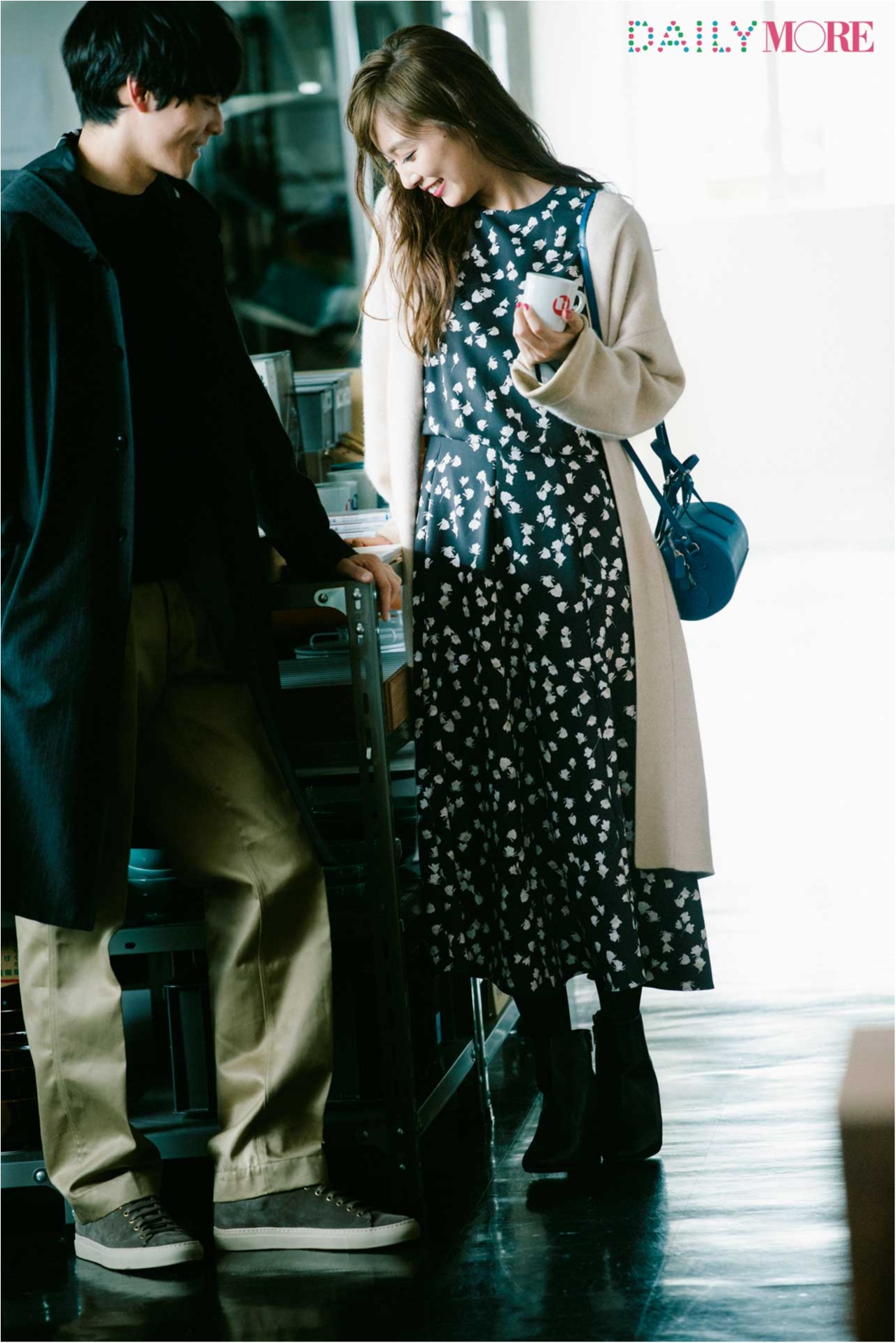 """「きれいめシンプル」の彼にもっと愛される、素敵見えデート服のポイントは""""なめらかニット&とろみ素材♡_3"""