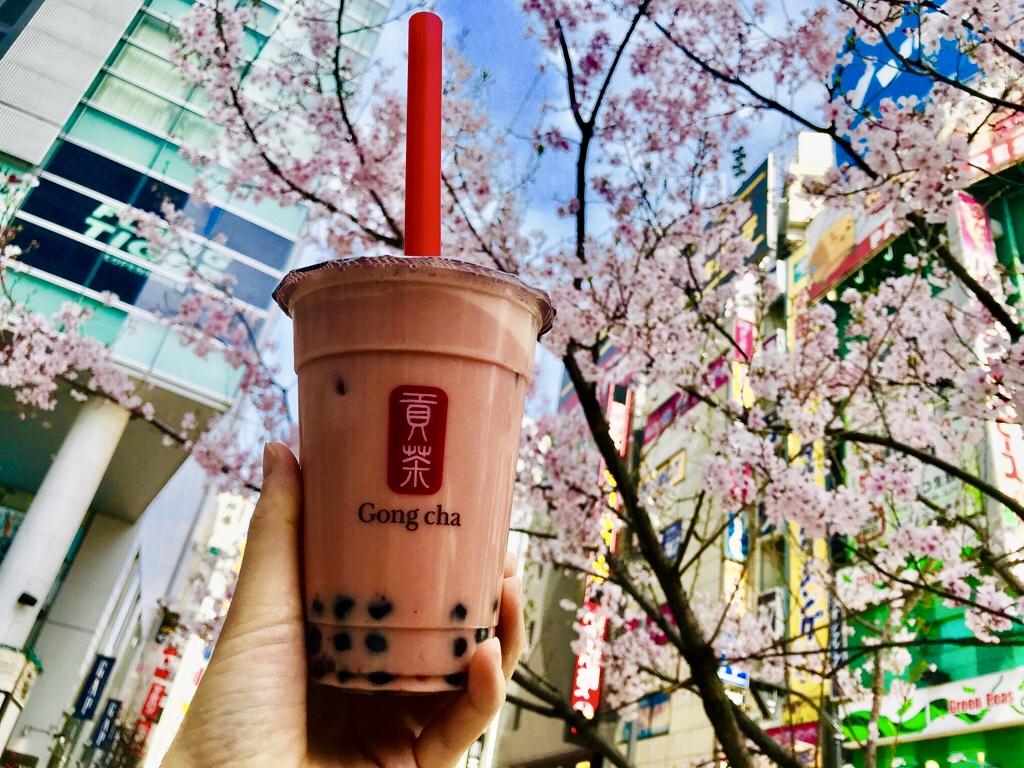【Gong Cha】タピオカドリンクも春仕様♪《苺×ミルクティー×タピオカ》の最強コラボ♡_4