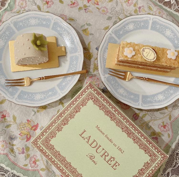 【ラデュレ】可愛すぎるケーキ_1