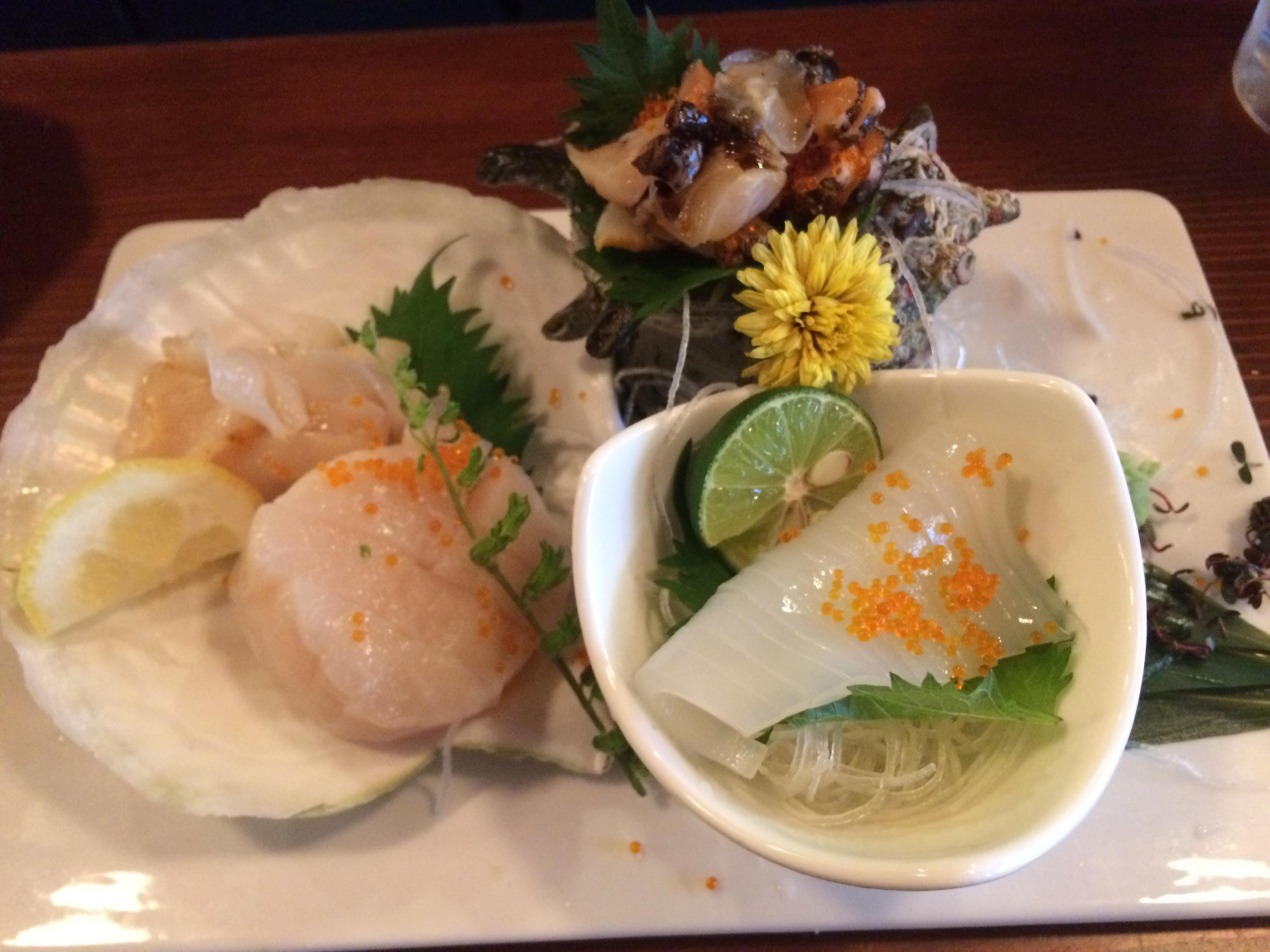 東京で美味しい魚貝料理♡_2