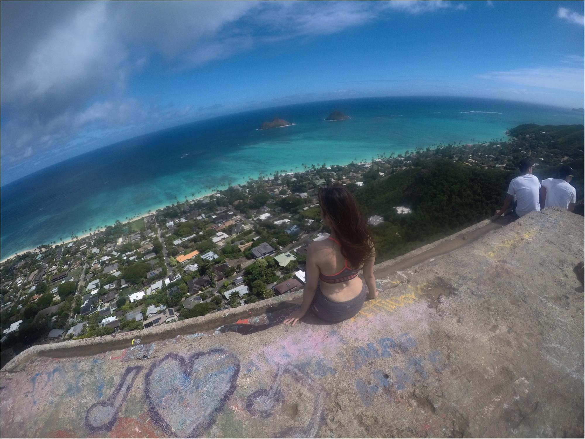 【ハワイ旅①】ダイヤモンドヘッドだけじゃない、ハワイのハイキング!キツい分それ以上の景色と感動が待っていました♡♡♡_2