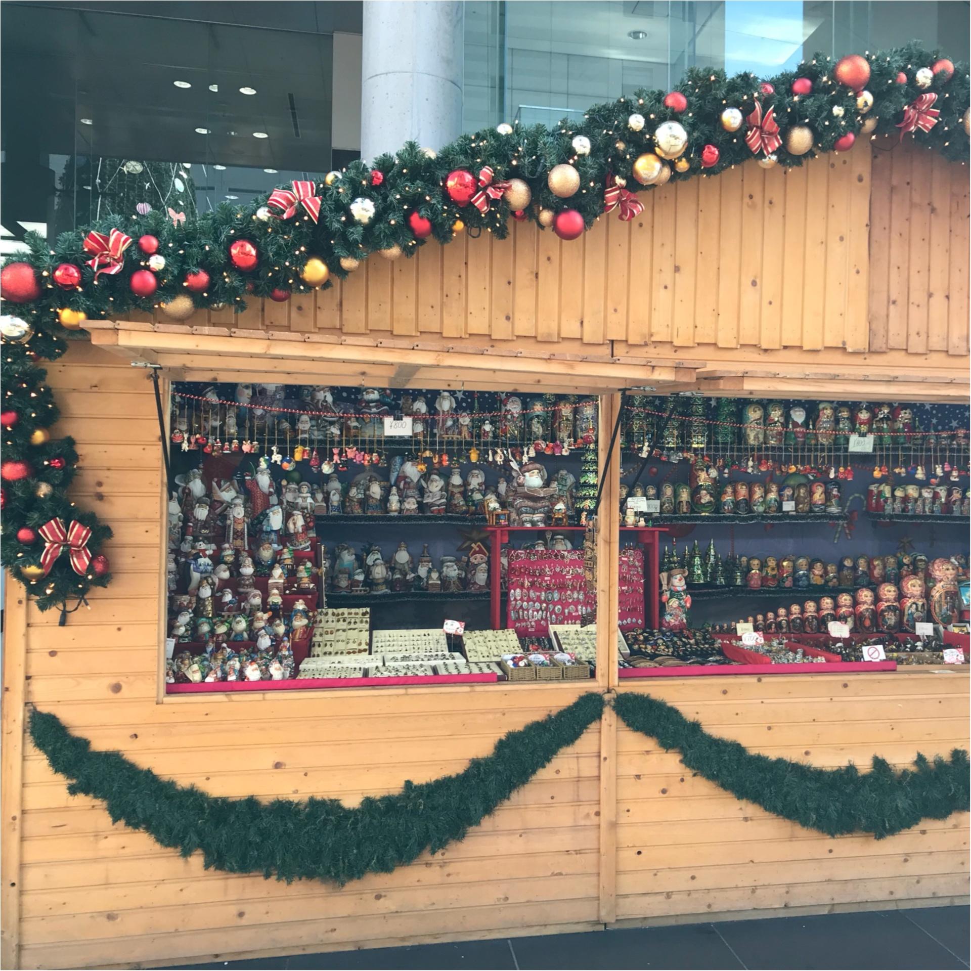 ★このシーズンには欠かせない、おすすめデートスポット♡それが『クリスマスマーケット』★_1