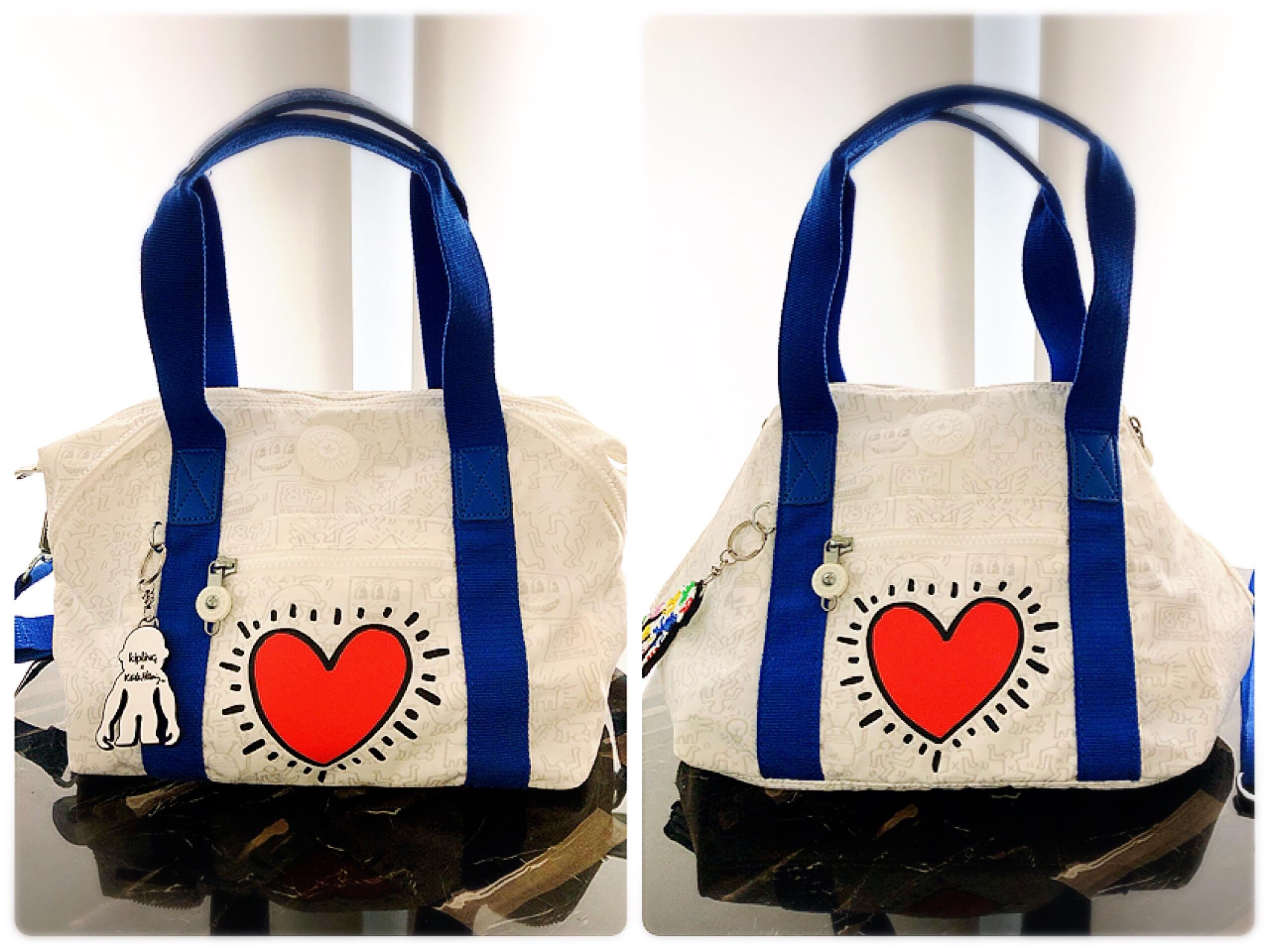 【NEW!】《Kipling×Keith Haring》ポップなデザインがファッションのアクセントに♡ GoTo Travelに大活躍の2wayバッグ!_1