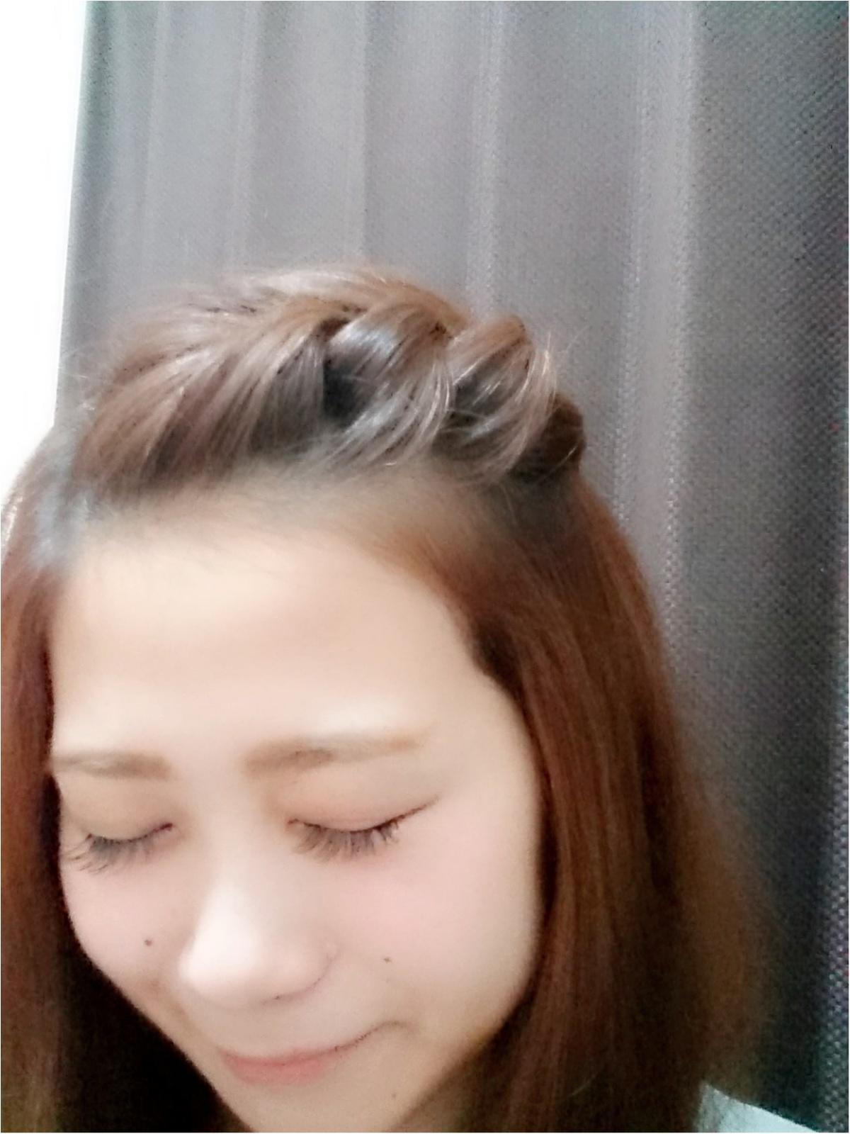 くせ毛さん集まれ~(^ω^) 簡単前髪ヘアアレンジ☆_3
