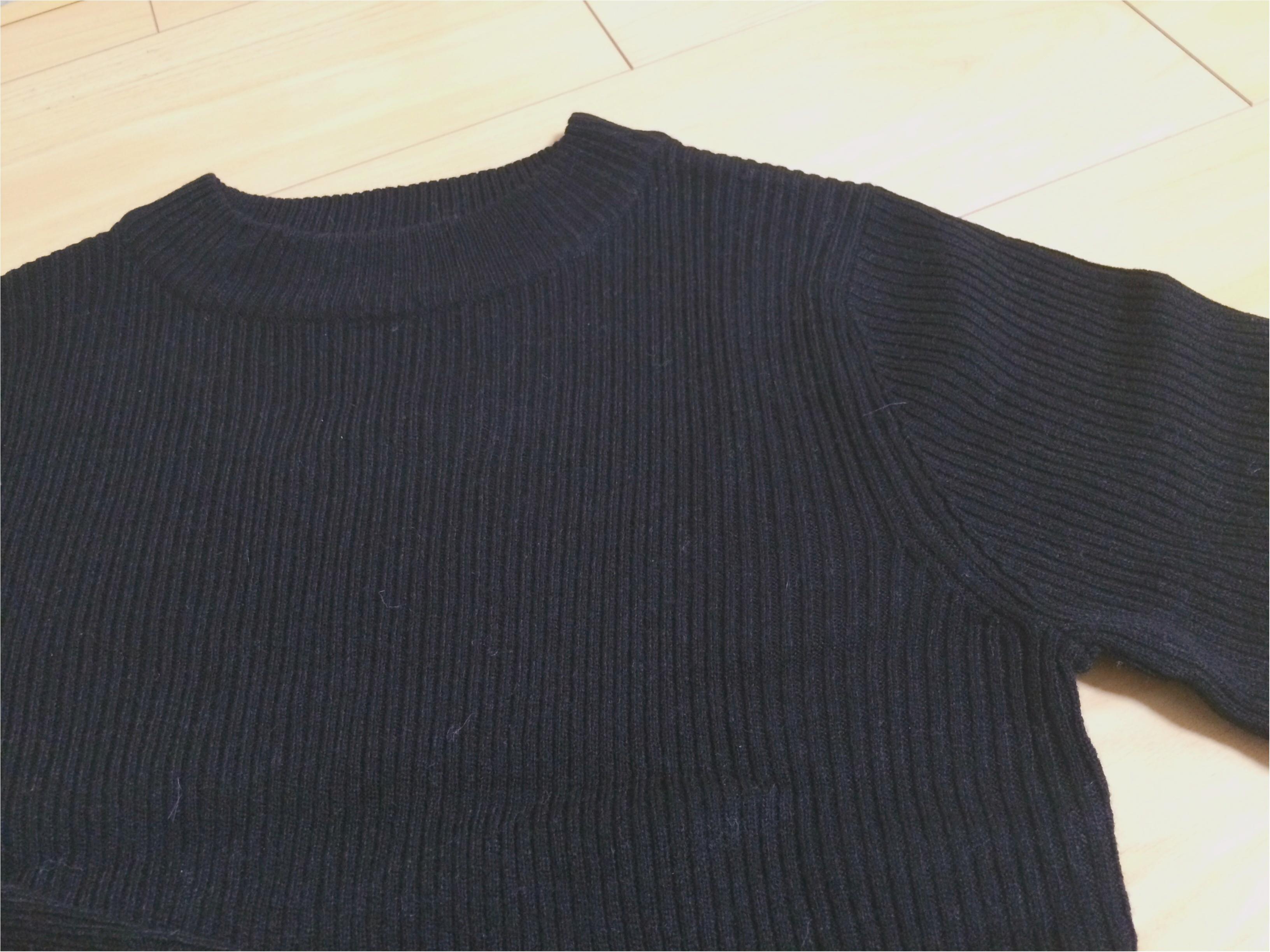 『冬コーデ、どっかに黒』GUなど、私が買い足した黒アイテム3つ!!_3