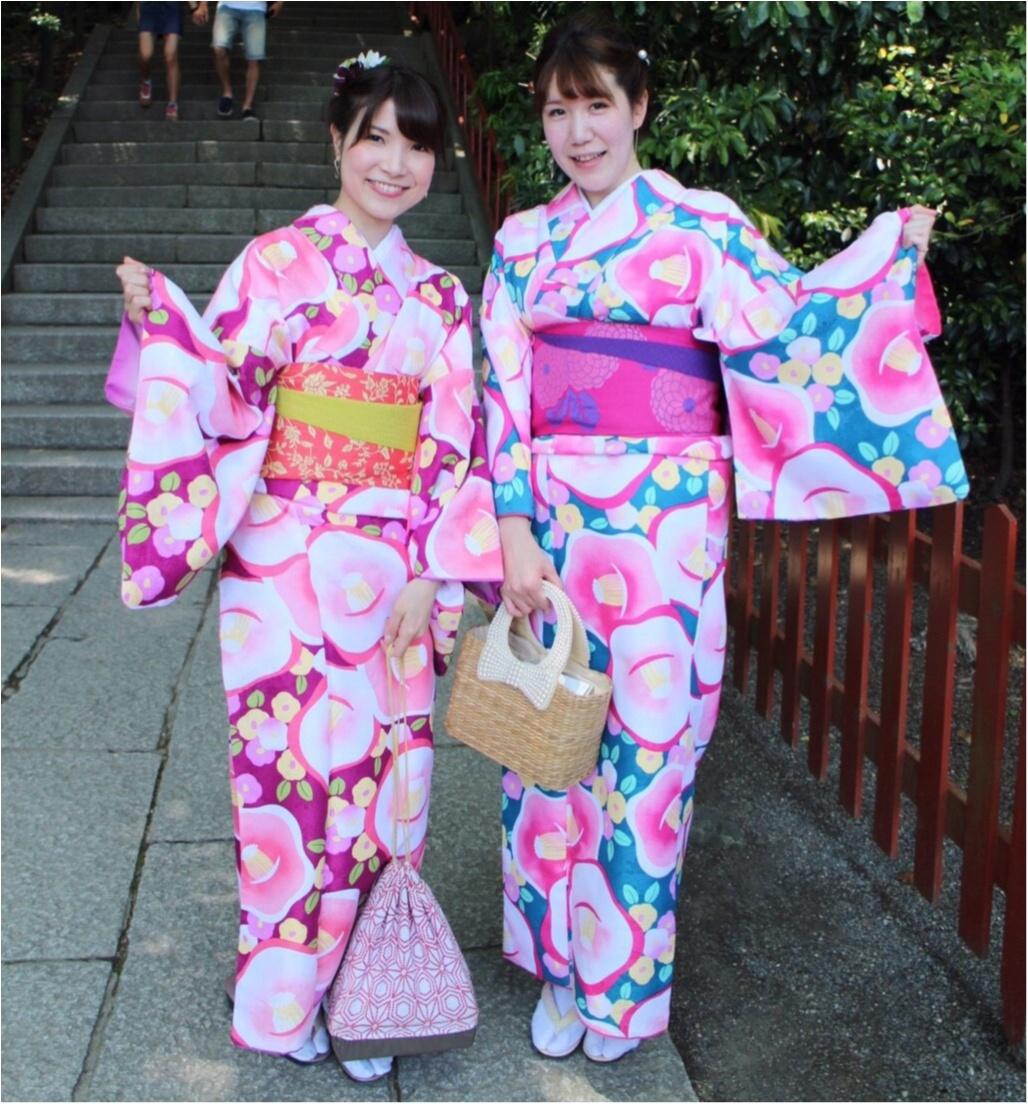 レンタル着物で鎌倉へ!私の着物コーデをご紹介!_5