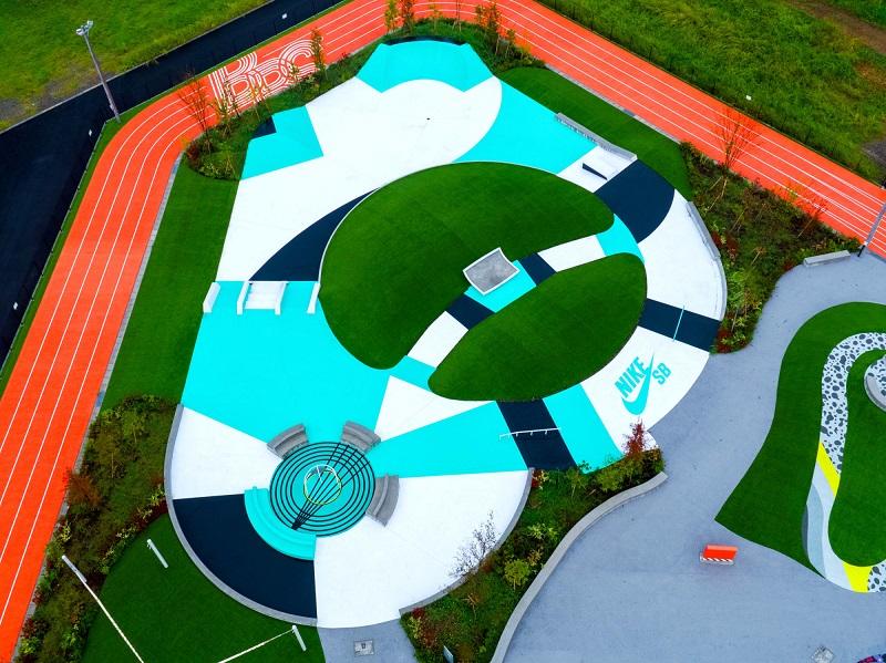 ゆりやんレトリィバァとワークアウト体験! 最新スポット『ナイキ』のスポーツパーク「TOKYO SPORT PLAYGROUND SPORT × ART」レポ☆_5