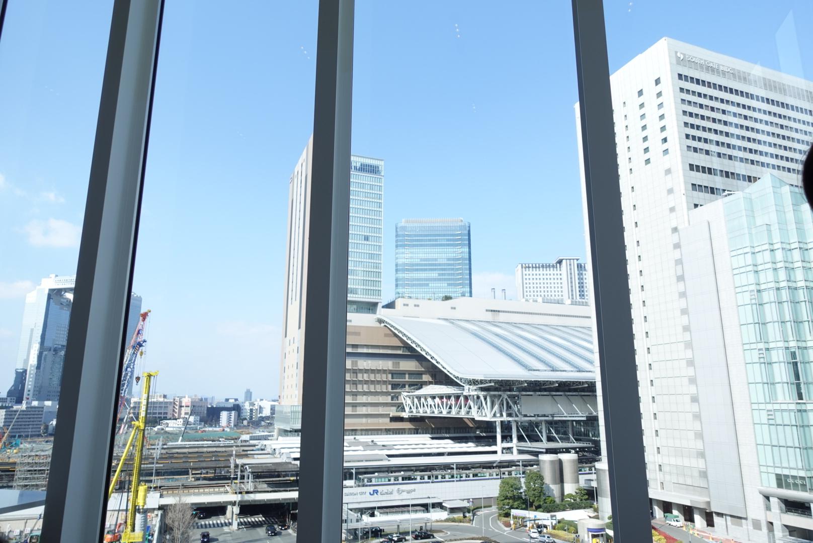 ドラマ半沢直樹のロケ地!?大阪にあるThe Grand Cafeでアフタヌーンティーをしたらとても眺望が良かった!甘いものばかりではないので男性にもおすすめ★_9