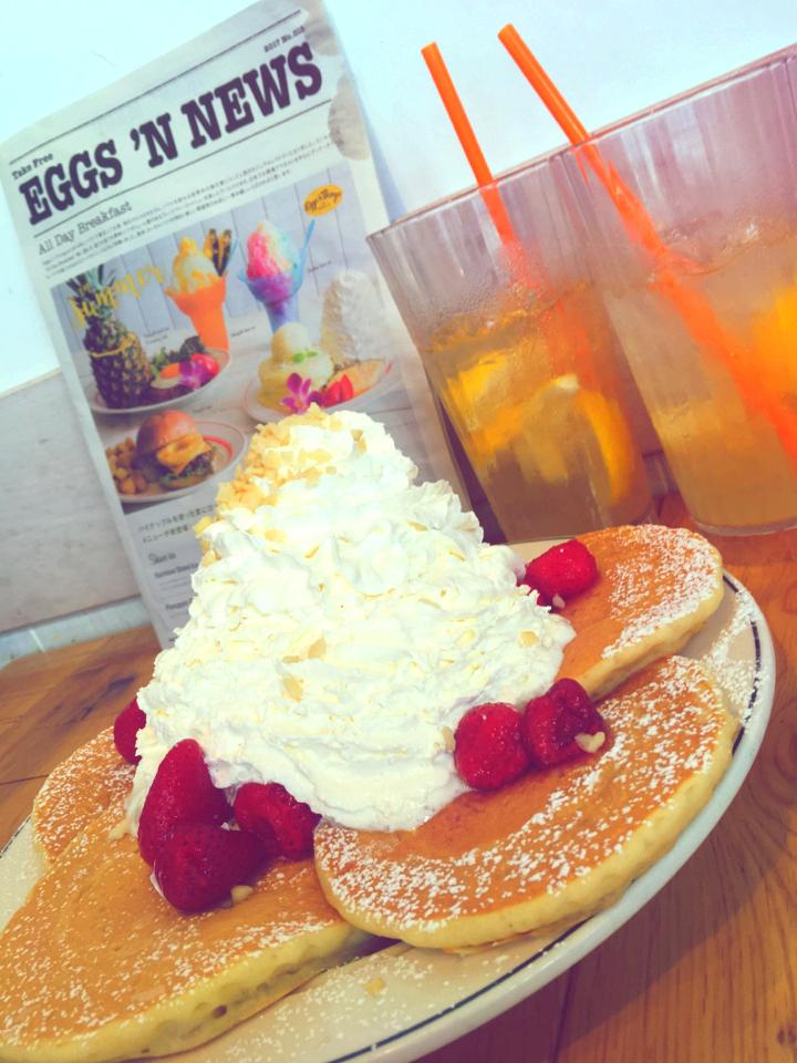 Eggs'nThingsの【SNS映えメニュー】夏の暑いトキ、バテたらひとやすみ♡_3