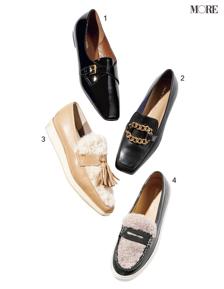 秋の足もとを完成させるなら、このきれいなぺたんこ靴&すらりと見えるショートブーツが正解!_3