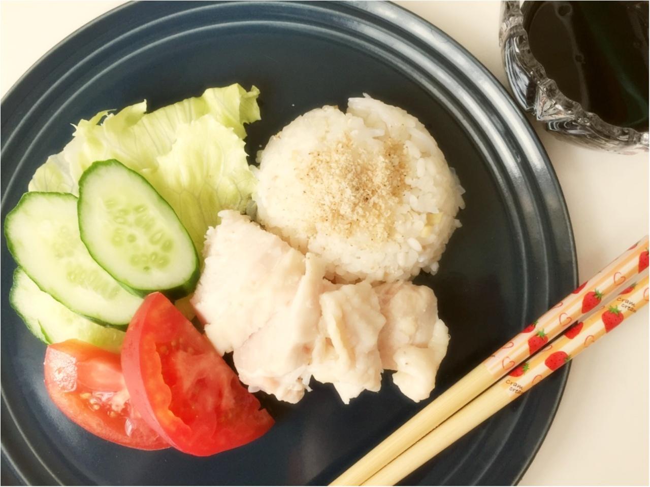 シンガポールチキンライスを作ってみました!使えるおすすめ食器も紹介しています♡*_1