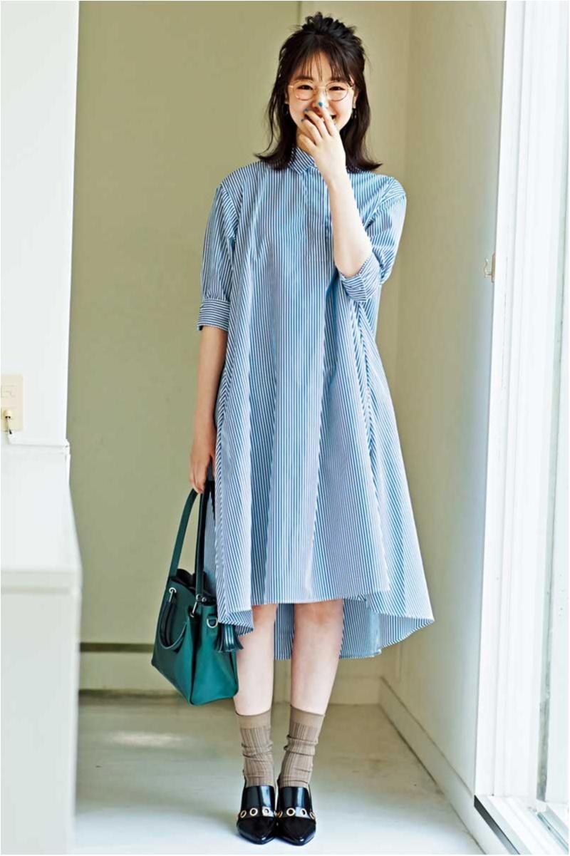 夏のあいだにプチプラ服で秋準備。『ユニクロ』&『GU』のスカート、ニット、ワンピースにラブコール♡_1_1