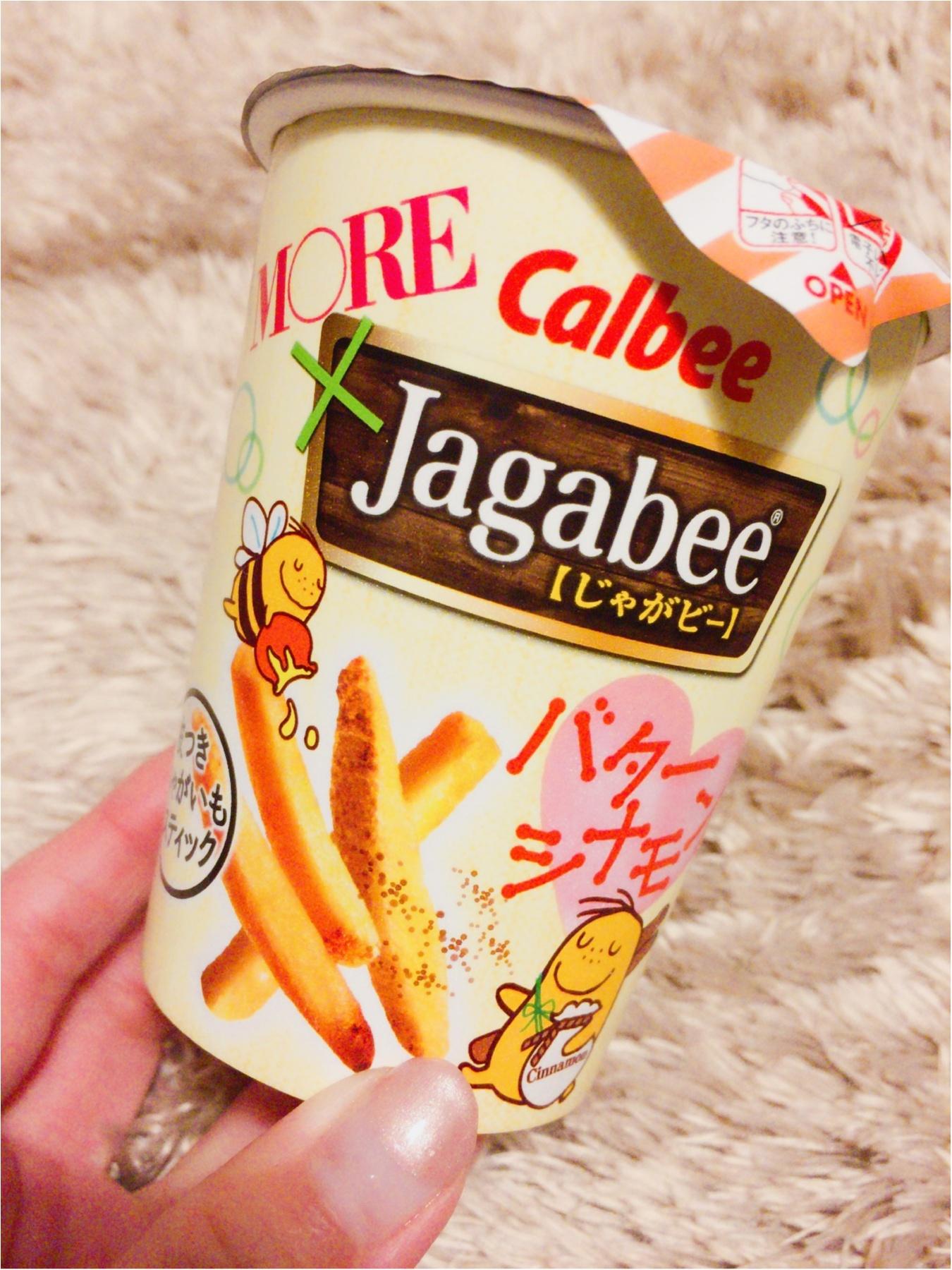 ♡バターとシナモンが合いすぎる!!MOREとカルビーのコラボ商品【Jagabee バターシナモン味】は絶品なんです(〃ω〃)♡_1