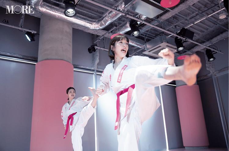武道フィットネスにチャレンジ! ピンクの空間、道着も可愛くてアガる♡【佐藤栞里のちょっと行ってみ!?】_1