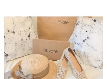 【購入品紹介】titivateが可愛い〜♡