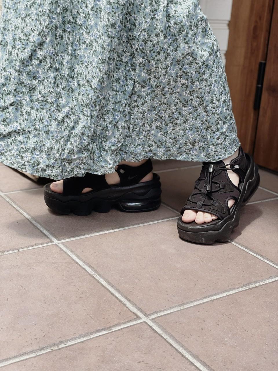 【おすすめ夏サンダル】ついにゲット♡話題のNIKE エア マックス ココを履いてみました_4