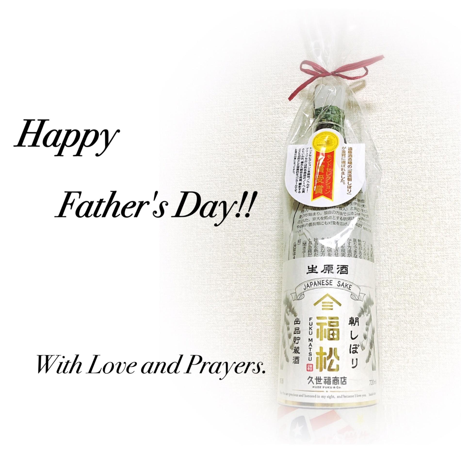 ▷今日は父の日。贈り物は一緒に楽しむのが1番◡̈_1