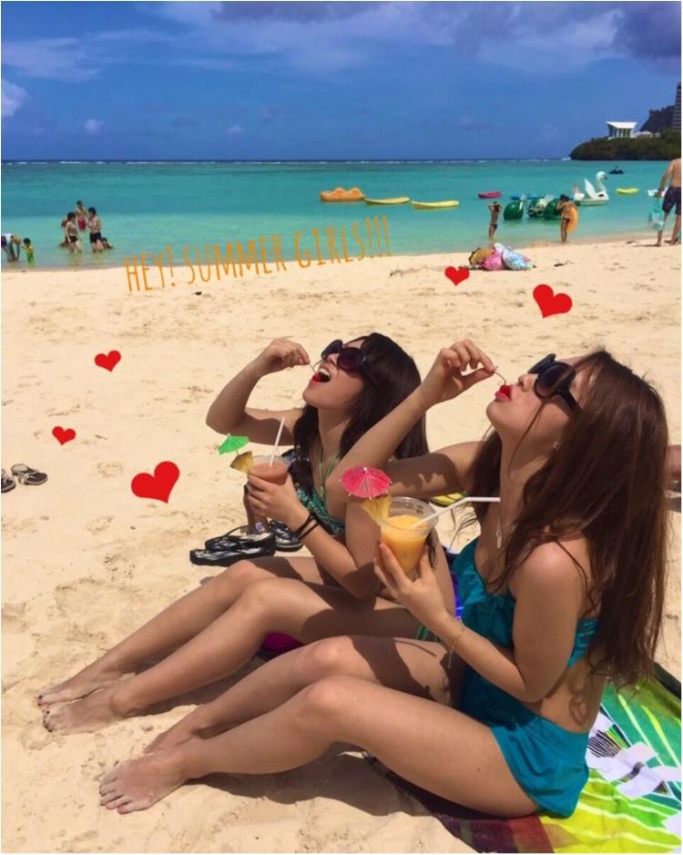 【TRIP】ビーチガールはこの夏どこ行く?!女子旅弾丸グアムのすすめ♡_6