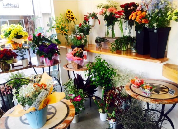 お花屋さんでランチを♩カフェとお花屋さんが一つになったポーズカフェ♡_2