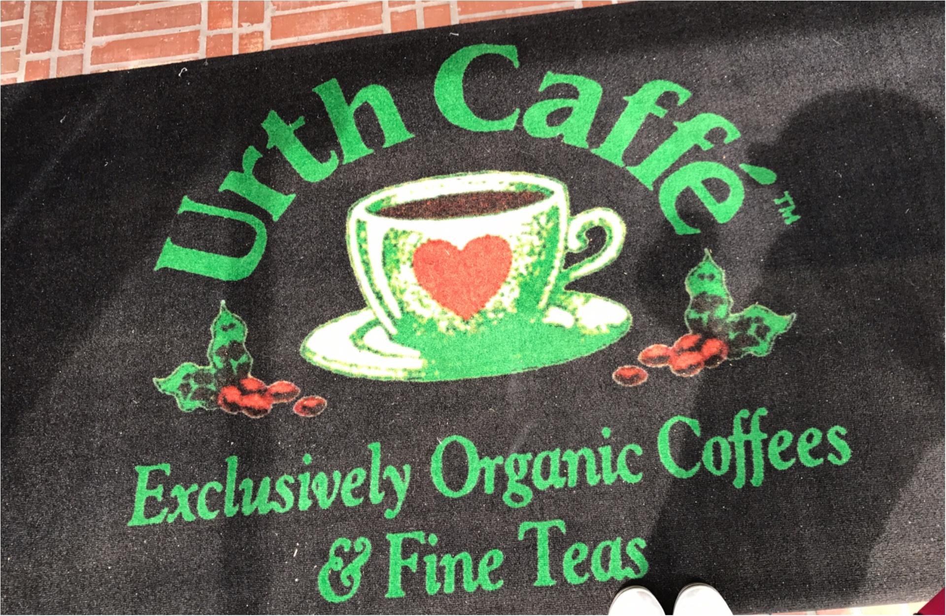 ★並んでも行きたい!モアハピ部地方組の私がどうしても行きたかった『Urth Cafe』はやっぱり可愛かった★_1