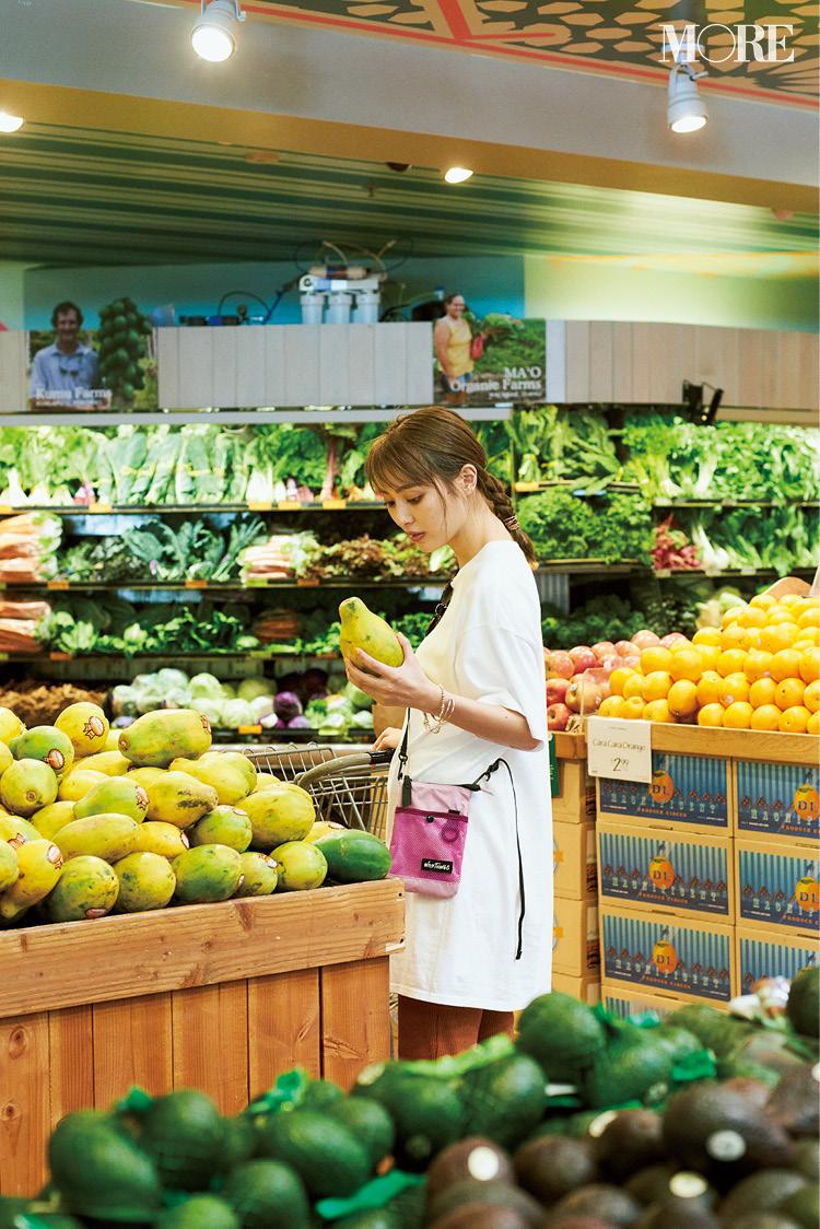 内田理央のハワイお買い物ナビ♡ ハワイならではの食材やコスメを、ホールフーズマーケットとセフォラでお買い上げ&お土産にも!_2