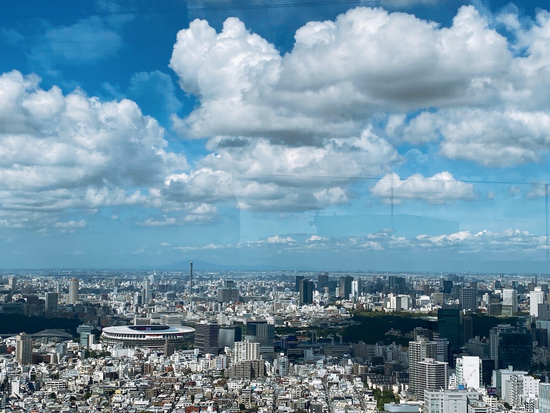 SHIBUYA SKY 景色