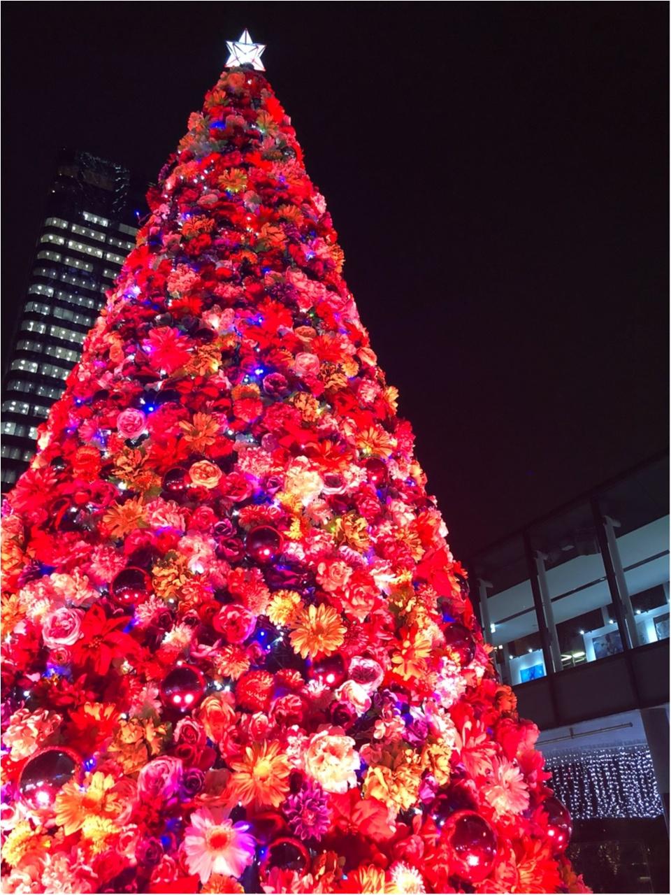 東京スカイツリーに登らずとも楽しめる!ピンクのお花のツリーが可愛いイルミネーション!!_4