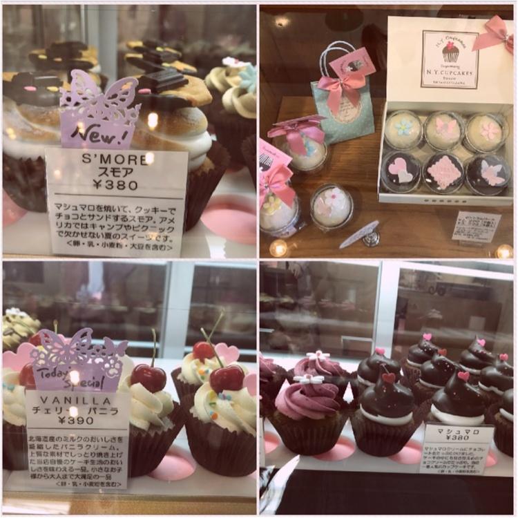【FOOD】可愛いの大定番♥ 一度は行きたいニューヨークカップケーキ!_3