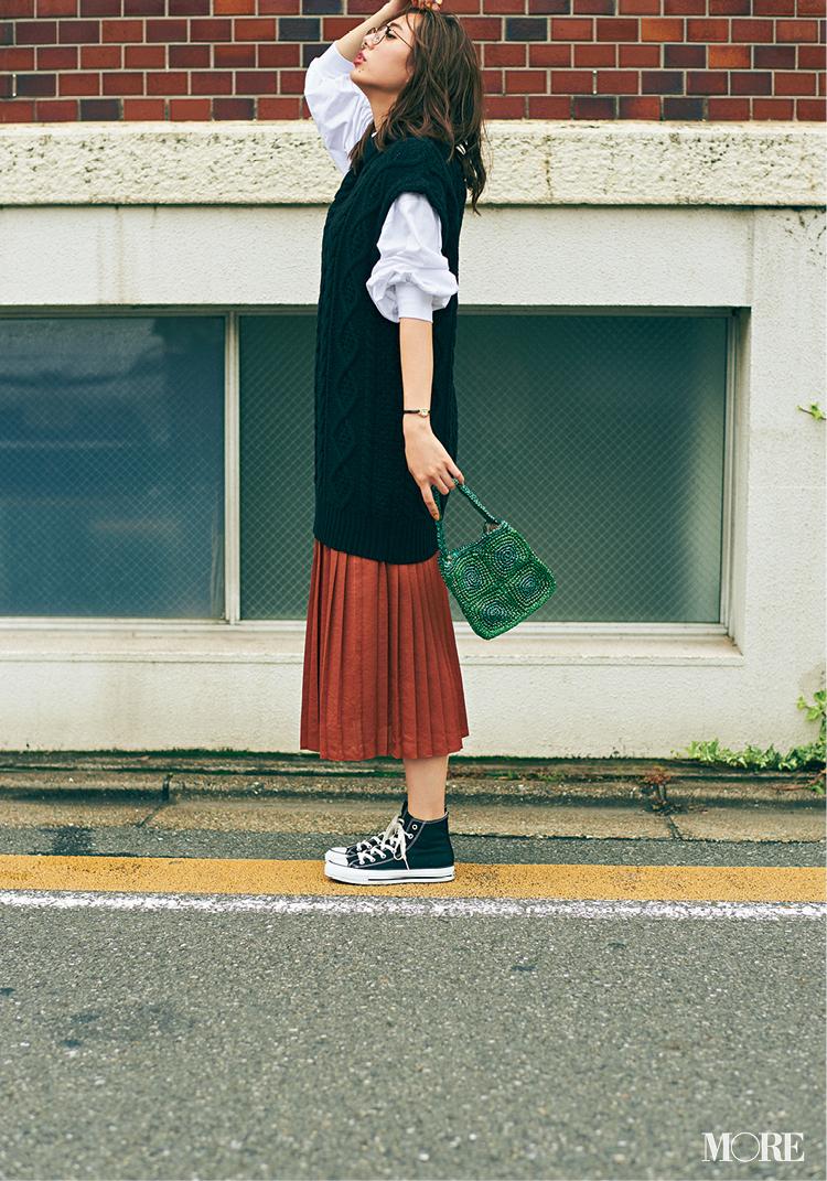 【ニットベスト】は真っ先に飛びつきたい秋服No.1! 記事Photo Gallery_1_7