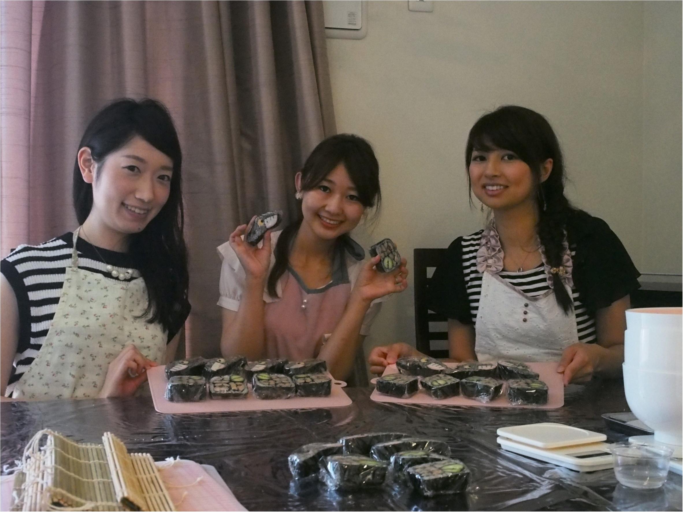 デコ巻き寿司インストラクター♡さちこ♡に習う季節を感じられる絶品デコ巻き寿司( ´ ▽ ` )ノ_10