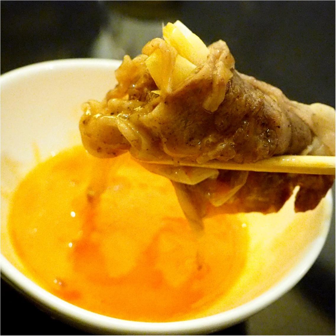 暑い夏こそ食べなきゃ♡塩すき鍋は特製の氷ダレをのせてさっぱりとした味わい_10