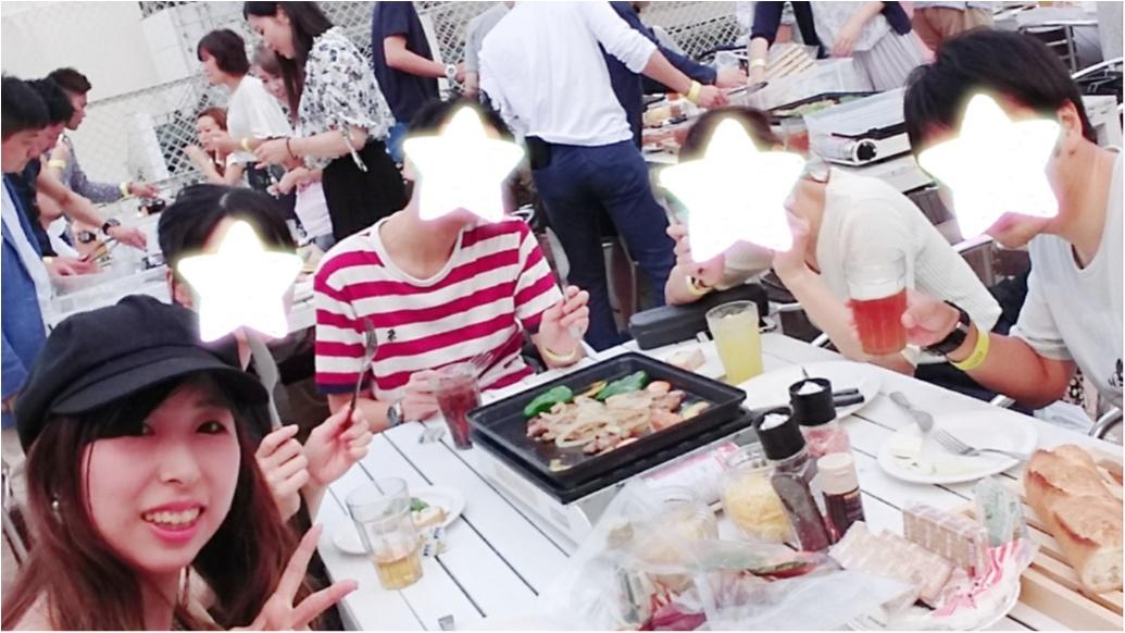 《東京のまんなかでBBQ!!》インスタ映えスポットもたくさん♡【WILD BEACH】_7