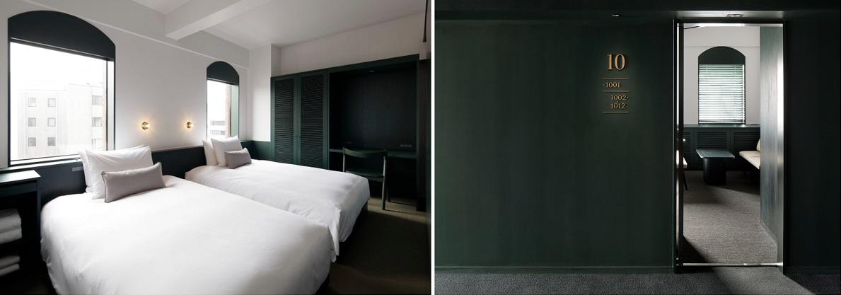 【東京のおしゃれなホテル】『DDD HOTEL』の部屋「スーペリアツイン」