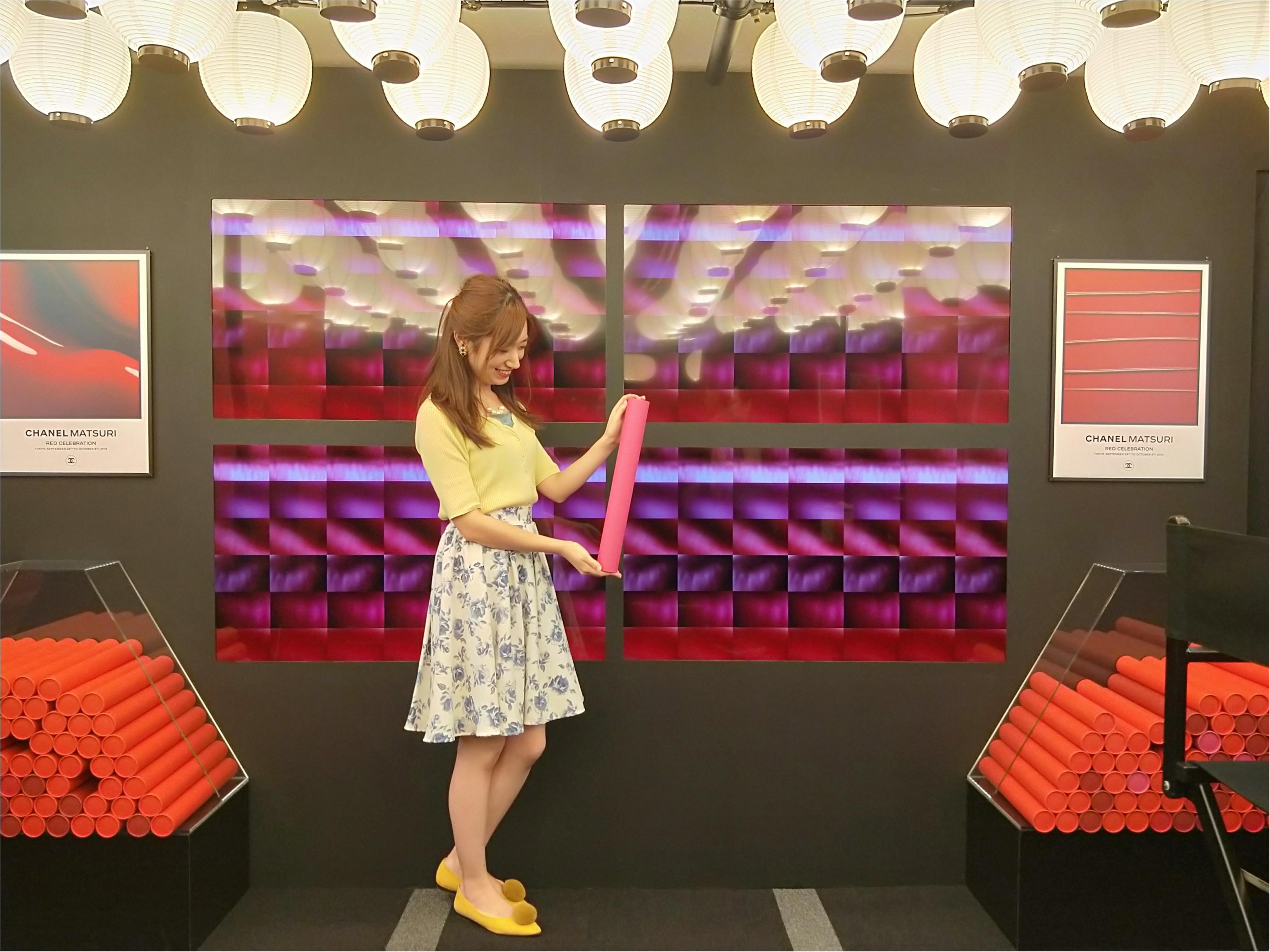 東京・京都・広島で開催!CHANEL MATSURIで新作ルージュや特別限定品アイシャドウをメークアップ体験してきました♡_10